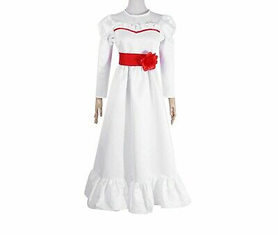 Halloween Costume The Conjuring Annabelle Creation Long Fancy - Annabelle Kostüme
