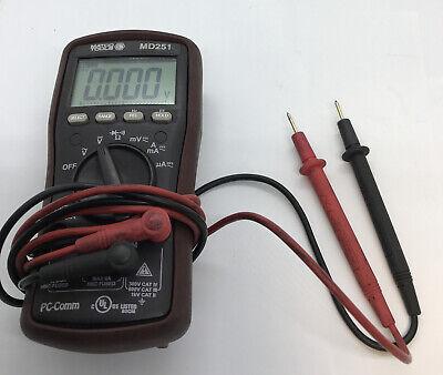 Matco Tools Md251 Digital Multimeter Used