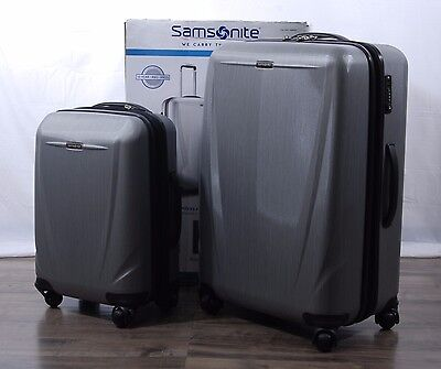 Samsonite Sphere DLX 2-piece Polycarbonate Luggage Spinner Suitcase Set 28