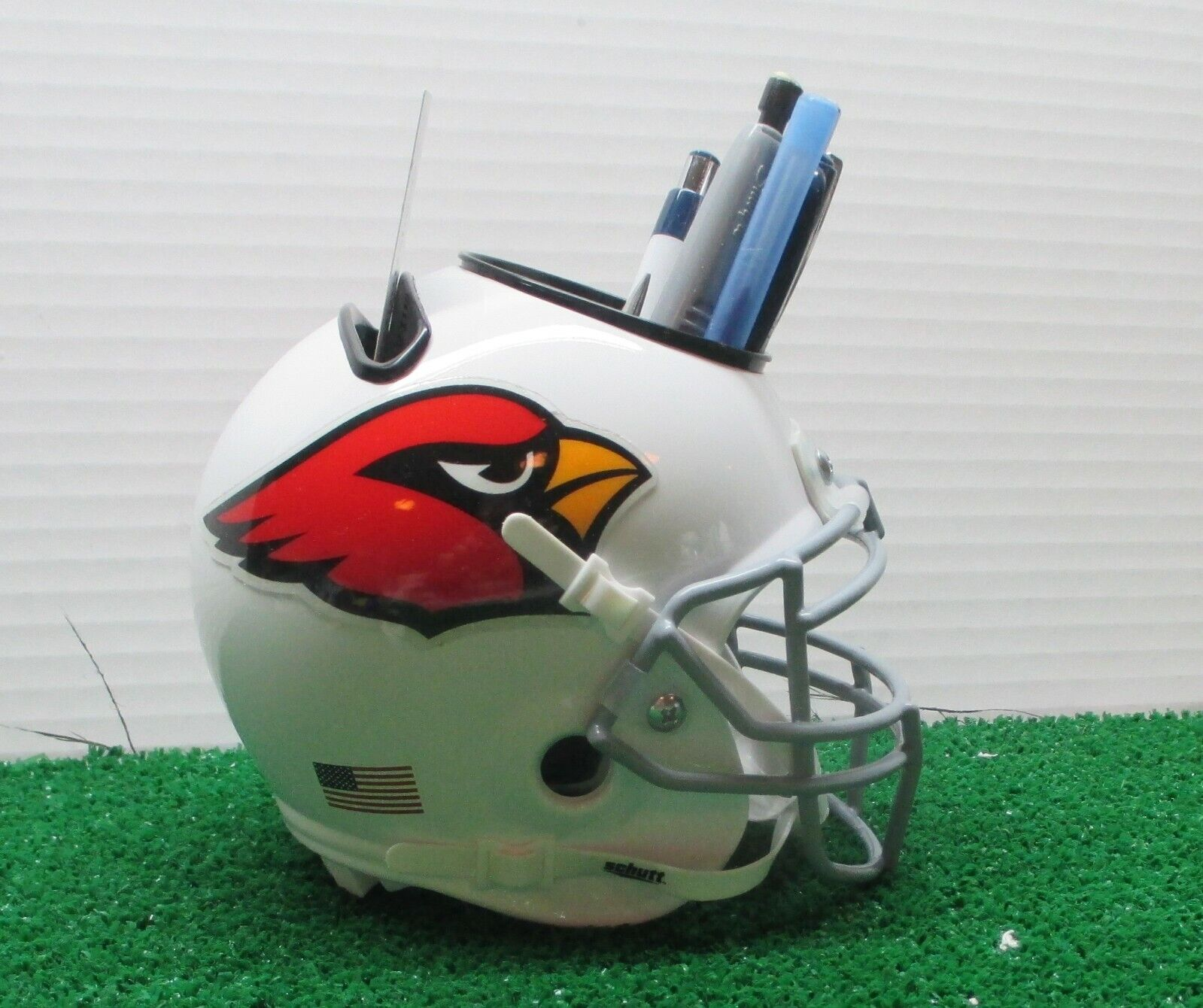 ARIZONA CARDINALS CUSTOM MINI HELMET DESK CADDY