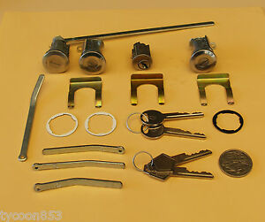 IGNITION-BARREL-2-DOORS-BOOT-LOCK-SUIT-CHRYSLER-VALIANT-VF-VG-1969-1971