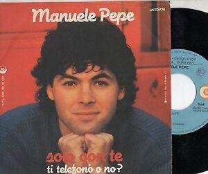 MANUELE-PEPE-disco-45-giri-MADE-in-ITALY-Solo-con-te-ZUCCHERO-FORNACIARI