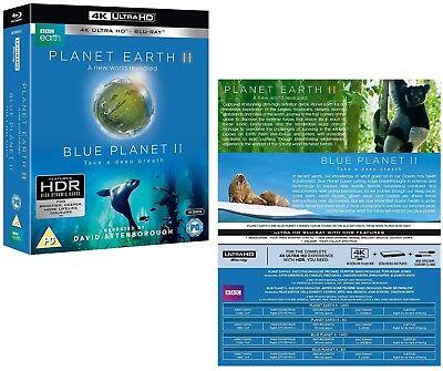 Planet Earth Ii 2016   The Blue Planet Ii 2017 David Attenborough Uhd 4K Blu Ray