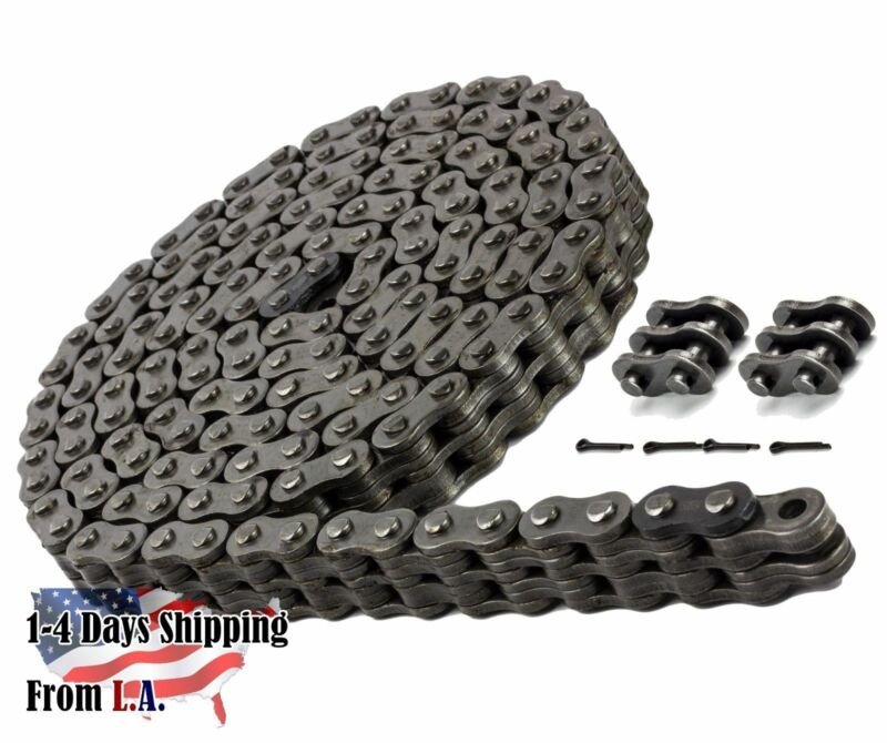 BL644 Leaf Chain 10 Feet For Forklift Masts,Hoisting with 1 Connecting Link