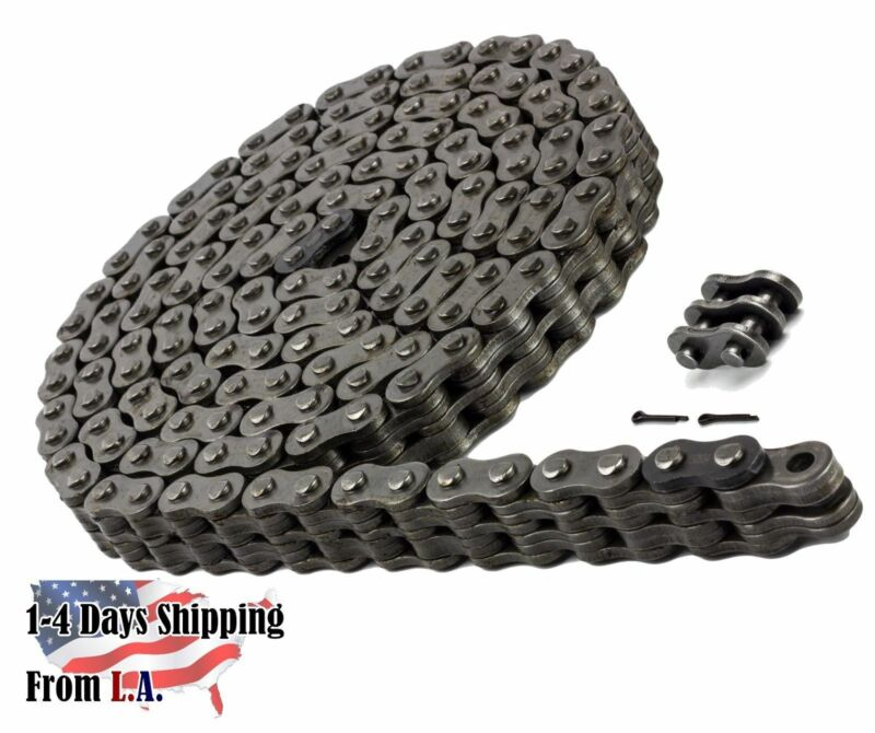 BL866 Leaf Chain 10 Feet For Forklift Masts,Hoisting with 1 Connecting Link