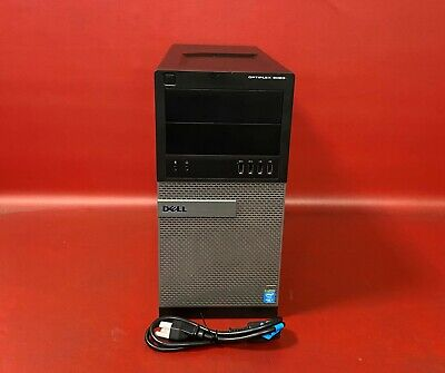 Dell OptiPlex 9020 Tower Quad Core i7-4790 3.60GHz 8GB RAM 500GB HDD NO OS QTY