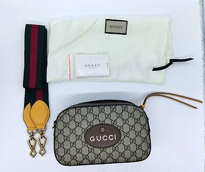 Authentic GUCCI Neo Vintage GG Supreme messenger bag