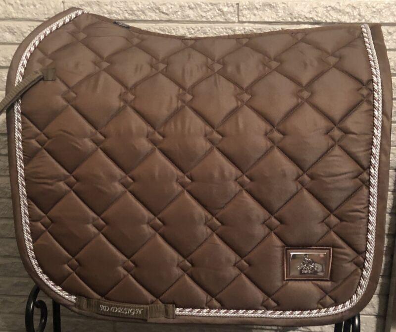 SD® Gem Collection Dressage Saddle Pad - Smoky Quartz