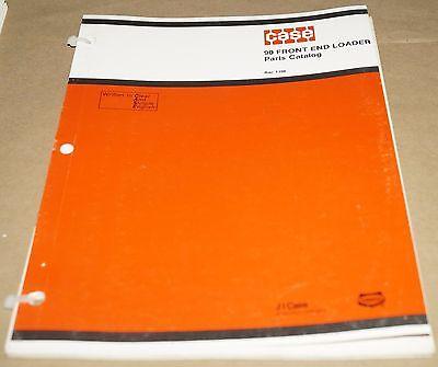 Case 90 Front End Loader Parts Catalog Manual Book