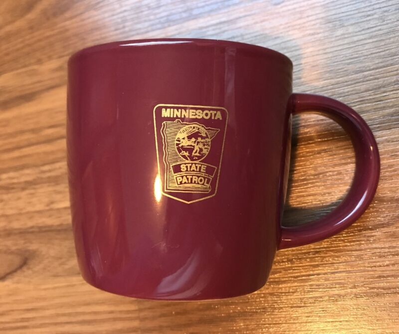 MINNESOTA STATE HIGHWAY PATROL Coffee Mug Police Sheriff Law Enforcement Heavy