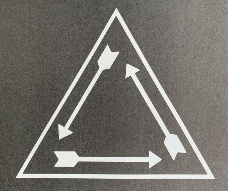 Order Of The Arrow Vigil Triangle Vinyl Decal OA