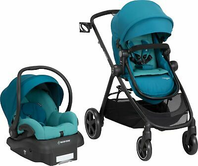 Maxi-Cosi - Zelia 5-in-1 Modular Travel System - Emerald Tide