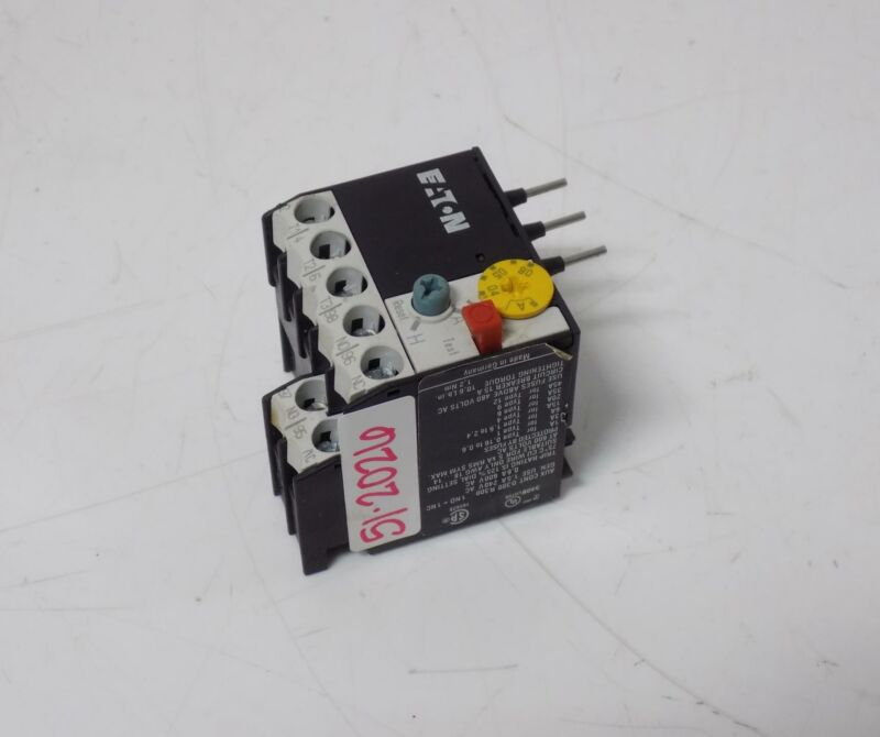 EATON THERMAL OVERLOAD RELAY ZE-0.6
