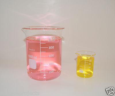 Beaker Set 1000 100 Ml Griffin Graduated Borosilicate Glass Beakers New