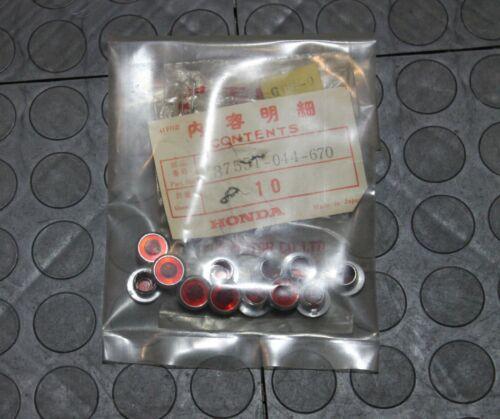 NOS Honda Beam Pilot Lens CB CL SL Models 12 Piece Lot 37551-044-670 New BINK