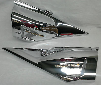 Valkyrie Chrome Side Covers ( 2014 Valkyrie GL1800C Chrome Side Cover Covers Honda Valkery Valkerie )