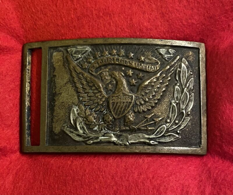 Civil War NCO Belt Plate With Benchmark