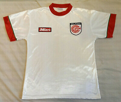 Ultra Rare Vintage Belarus 2008/08 Home Football Shirt by Mitre image