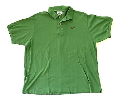 Lacoste Short Sleeve Ruby Golf Polo Green Shirt Mens Size 8 XXXL 3XL