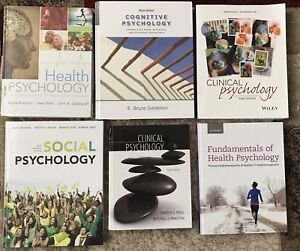 PSYCHOLOGY TEXTBOOKS - College/University