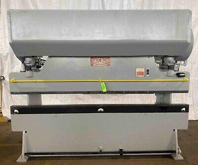 55 Ton X 10 Chicago Dries Krump 810 B Mechanical Press Brake . Stock 030762