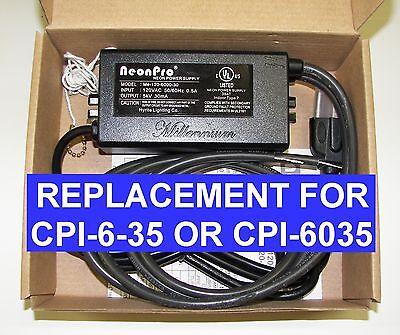 Cpi Advanced Cpi-6-35 6000 Volt Replacement Neon Transformer Power Supply