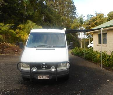 2001 MERCEDES 312D CAMPERVAN Tweed Heads South Tweed Heads Area Preview