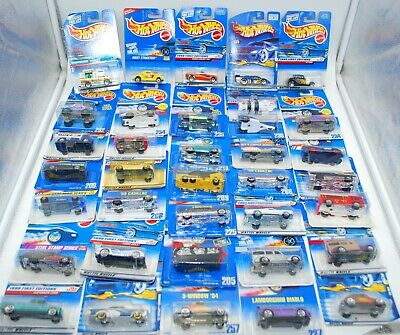 HOT  WHEELS ~ Huge Lot of 36 Hot Wheels Die Cast Cars - New on Card