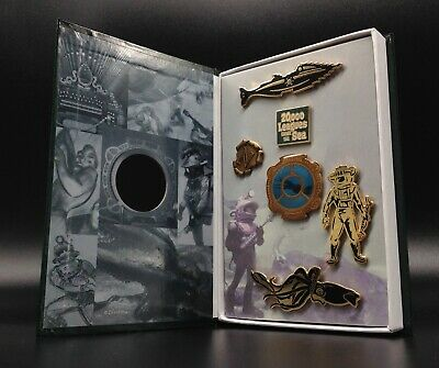 Rare NIB 20,000 Leagues Under The Sea 6 pins in box Limited Edition DISNEY new