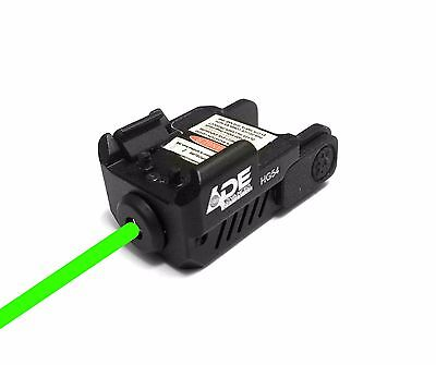 Super Compact Green Laser Sight Fits All Full Size Hand Gun   Sub Compact Pistol