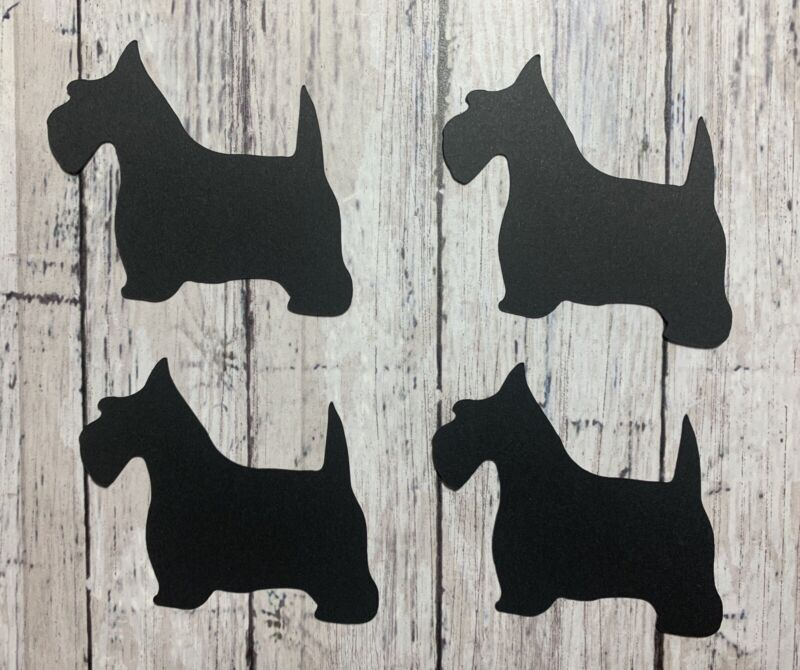 Dogs Die Cuts Card Embellishments!