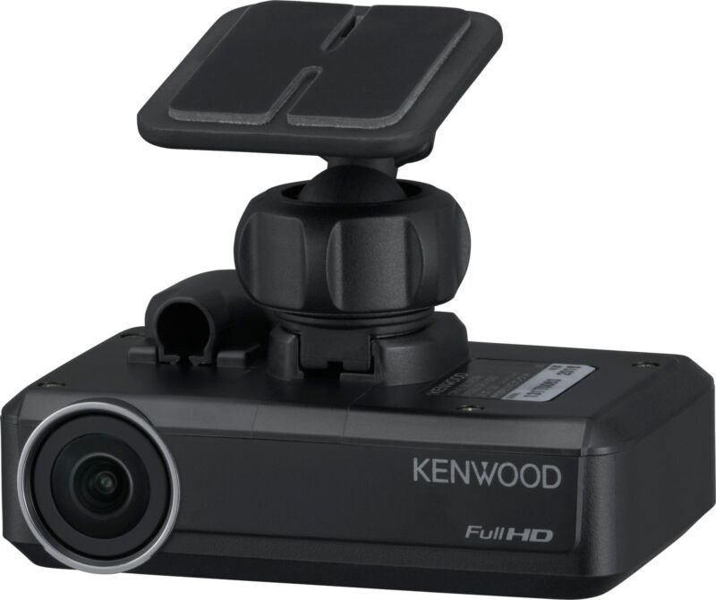 Kenwood - DRV-N520 Dash Cam - Black