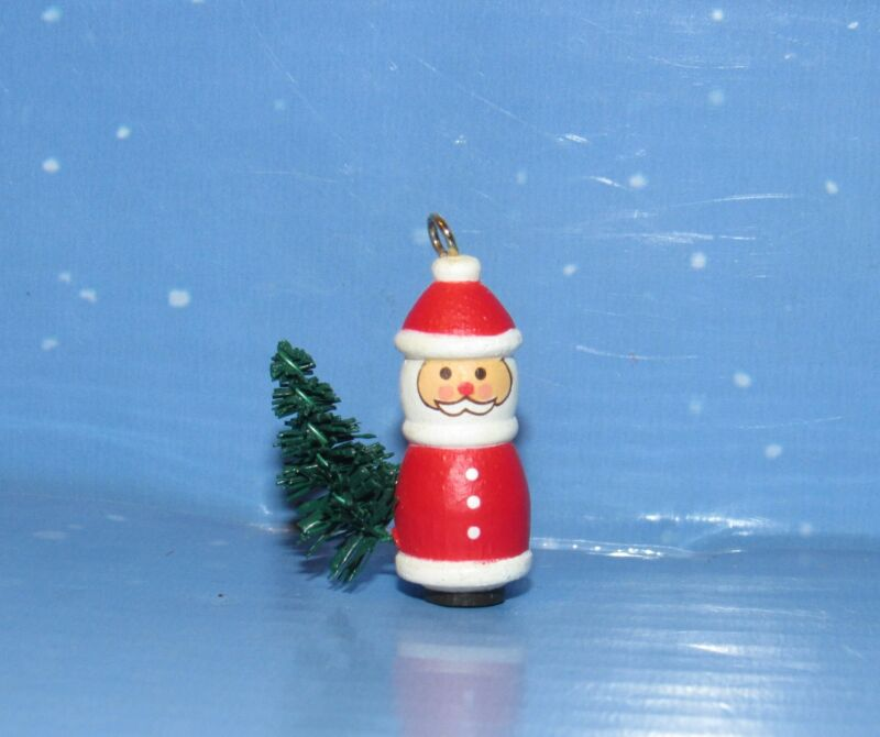 Old World Santa 1989 Miniature Santa Has His Christmas Tree,Hallmark Ornament