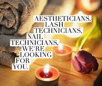 Aestheticians and beauty service providers!