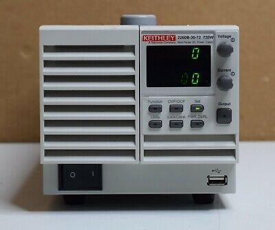 Keithly 2260b-30-72 720w Multi-range Dc Power Supply For Parts And Repair As Is
