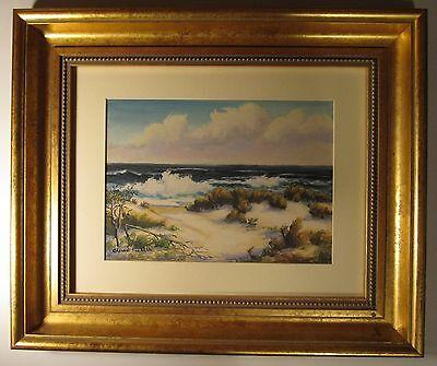 Fuller Malerei (Vintage Amerikanische Impressionist Fine Malerei Alfred Fuller Ca oder Maine See)