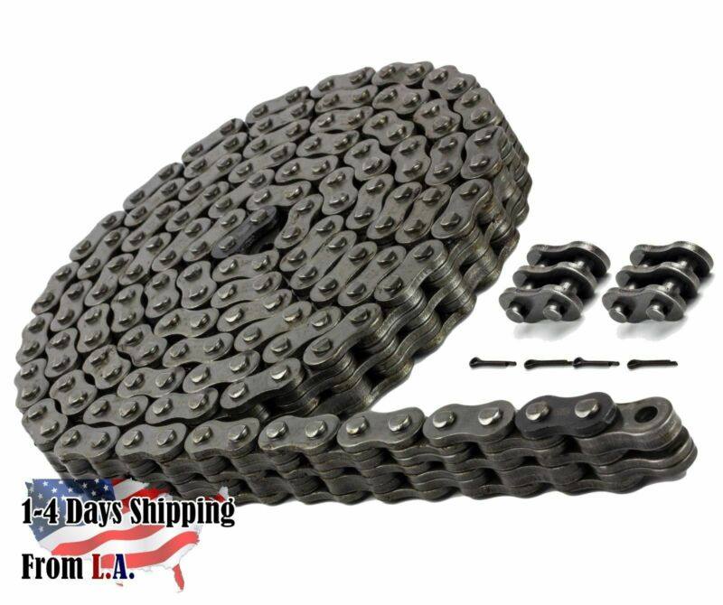 BL434 Leaf Chain 10 Feet For Forklift Masts,Hoisting with 1 Connecting Link