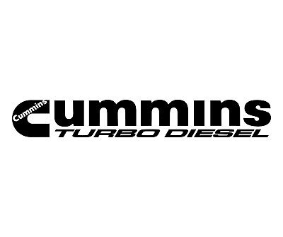 Cummins Decal, Diesel Truck Graphic