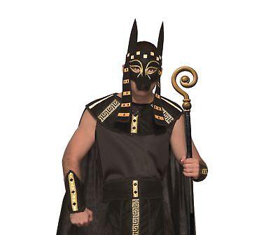 Anubis Cane Dio Greco da Uomo Adulto Costume Misura Standard Nuovo Mythological