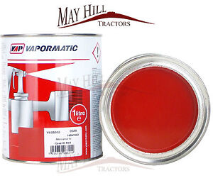 Case IH Tractor Red Paint 1 Litre - Vapormatic