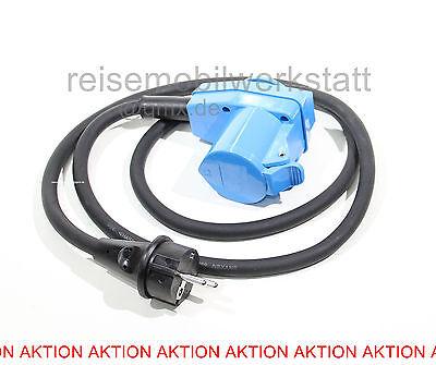 CEE Adapter Adapterkabel Winkel 1,5 m 3x2,5 Schuko Kabel mit Schuko Steck dose