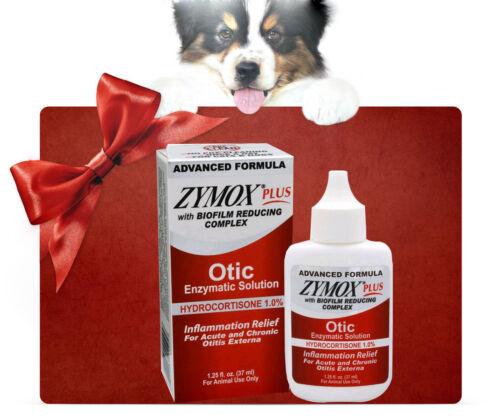 zy  mox plus Advanced Formula 1% Hydrocortisone Otic Dog&Cat Ear Solution New