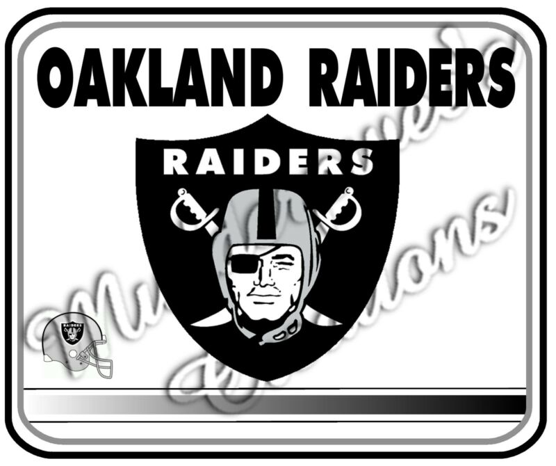 Oakland Raiders Mouse Pad