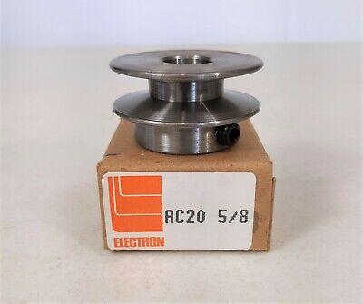 Electron Ac20 58 Steel V Belt Pulley 2 Od 58 Bore A 4l Series Belts
