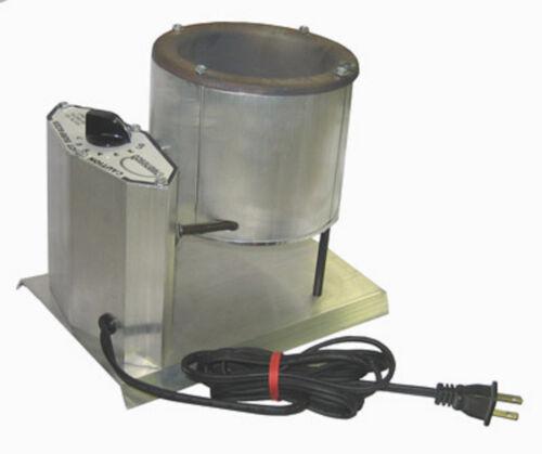 SOLDER POT 20 lb lead free operation 0 - 650 temp  Ceralac ceramic no flow valve