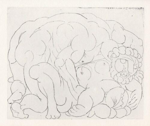 Pablo Picasso, The Embrace I (L