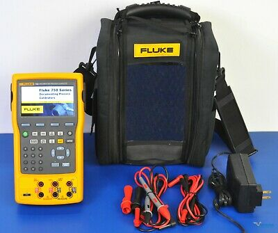 Fluke 754 Documenting Multifunction Process Calibrator Hart - Nist Calibrated