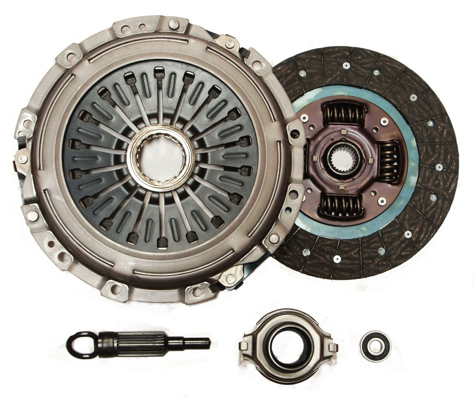 ACS Mega Stage 4 Clutch Kit for 04-14 Subaru Impreza WRX STi 2.5L TURBO EJ257