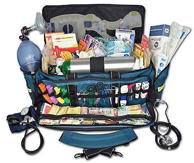 Lightning X Jumbo Medic First Responder Emt Ems Trauma Bag Stocked Kit Mb50 Skd