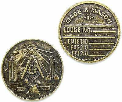Masonic Medallion Pocket Coin DMC-100